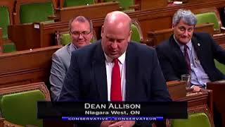 Dean Allison in the House