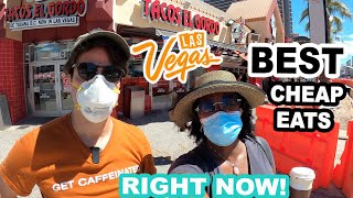 Top Best CHEAP EATS On The Las Vegas Strip RIGHT NOW!! | Tacos El Gordo & Greenbergs Deli @ NYNY