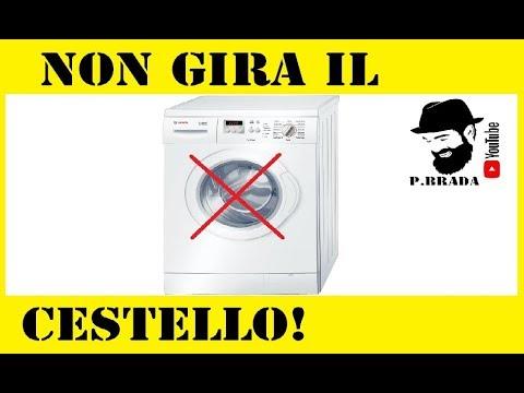 Riparazione Lavatrice a cui non gira il cestello by Paolo Brada DIY