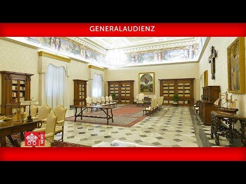 Im Wortlaut: Papst Franziskus bei der Generalaudienz