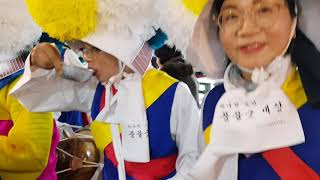 광주 무진 농악단 양동시장 마당밟이(10)