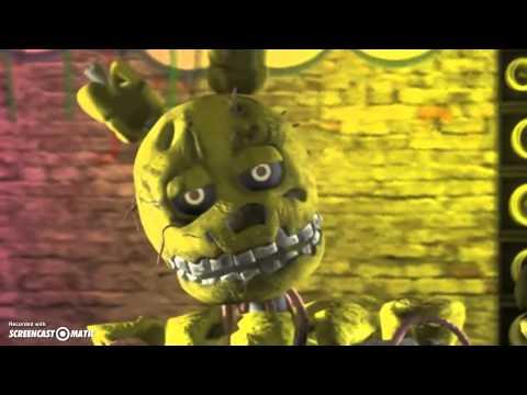 fnaf Sfm ( just gold by madopony ) (видео)