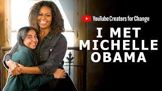 I Met Michelle Obama!   #CreatorsForChange