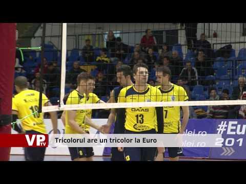Tricolorul are un tricolor la Euro