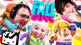 WILL THIS BREAK OUR FRIENDSHIP?! FALL GUYS W/ Toast, Sykkuno And Yvonne