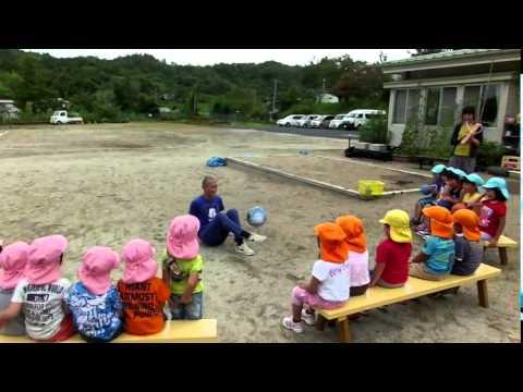 サッカーボールパフォーマンス in 一関市立 弥栄幼稚園(2014.08.26)