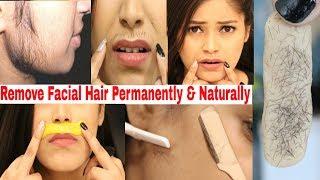 How to Remove Facial Hair Permanently💯%Naturally At Home No Pain❌No Gelatin Be Natural
