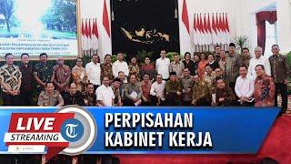 VIDEO Perpisahan Presiden Joko Widodo, Wapres Jusuf Kalla, dan Kabinet Kerja