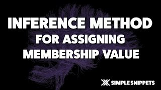 Inference Method for Membership Value Assignment   Fuzzy Logic