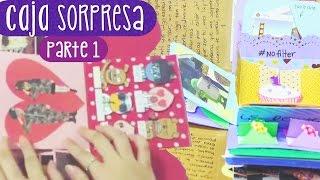 REGALA UNA CAJA SORPRESA - Tutorial Parte 1 (Exploding Box) ✎ Craftingeek