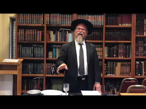 A Five Minute Halacha - Tevilas Kaylim