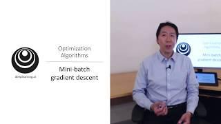 Mini Batch Gradient Descent (C2W2L01)