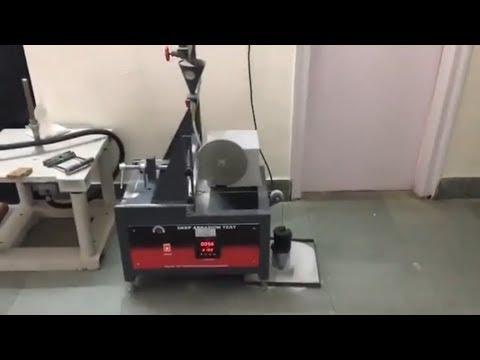 Deep Abrasion Testing Machine