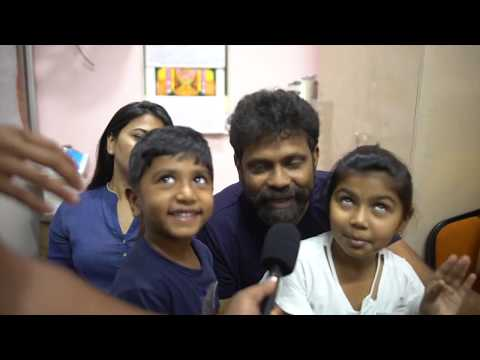 Sukumar And Family at Theatres for 1st Day of Rangasthalam
