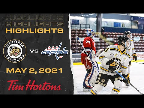 Grizzlies VS Capitals | May 2nd | HIGHLIGHTS
