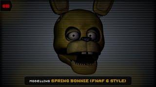 Springbonnie Style FNAF 6 [Cinema 4D #1]