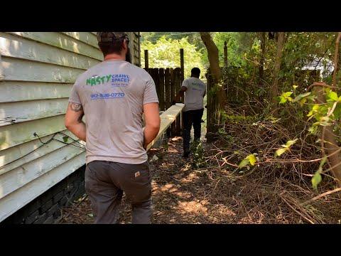 SmartJacks and Floor Replacement in Savannah, GA