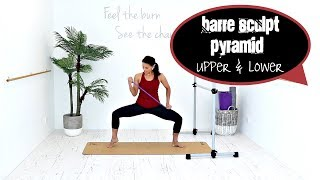 Barre Workout Resistance Band workout - BARLATES BODY BLITZ Barre Sculpt Pyramid Upper and Lower by Linda Wooldridge