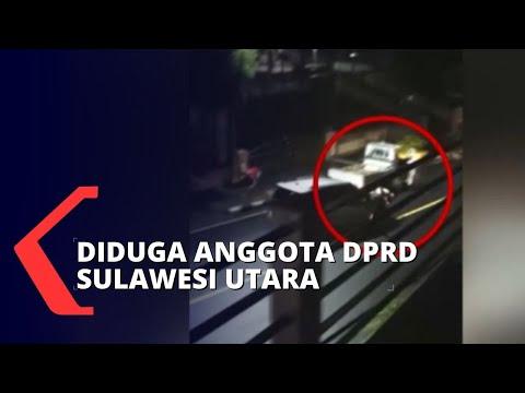 Video Istri Hadang Mobil Suami Viral, Sang Suami Diduga Anggota DPRD Sulawesi Utara