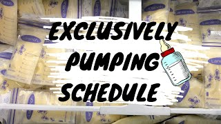 Exclusively Pumping Schedule🍼When to Start Pumping and how to wean off Pumping 🤱🏻