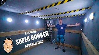 CREAR UN SUPER BUNKER APOCALIPTICO A MANO *es muy grande* [Ninchiboy]