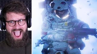 Realistic Space FPS Game - BOUNDARY Gameplay Reveal Trailer ( Reaction )