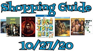New Blu-Ray, DVD Shopping Guide and Reviews for 10/27/20