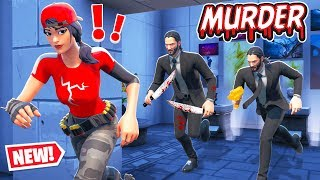 ESCAPE The MUSEUM Killer! (Fortnite Murder Mystery)