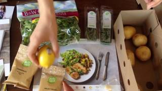 HELLOFRESH unboxing and $40 off coupon code