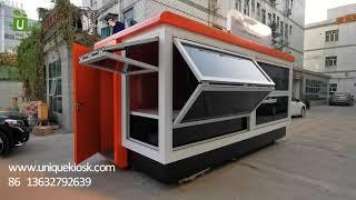 Outdoor Kiosk For Juice Bar Kiosk | Ice Cream Kiosk