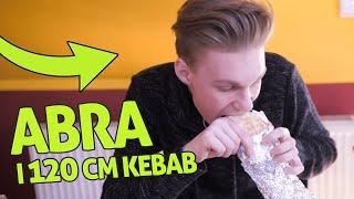 Jemy gigantyczne kebaby z Abrą *nie mieliśmy szans*