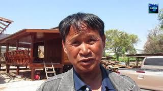 บ้านน็อคดาวน์แป๊ะยิ้ม 5 แสน น่าอยู่น่าซื้อ จ กำแพงเพชร : Finished Home in Thailand