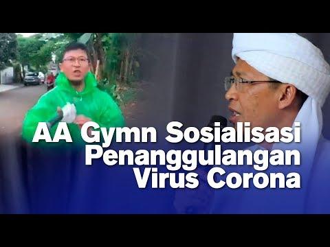 AA Gymn Sosialisasi Penanggulangan Virus Corona