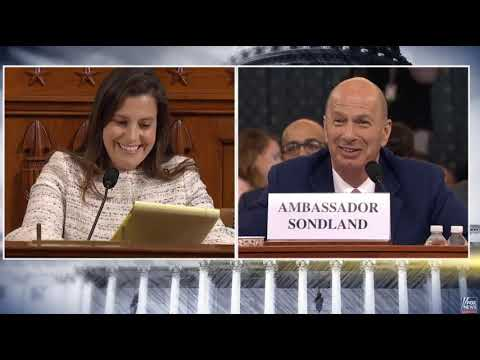 Stefanik Questions Ambassador Sondland in Impeachment Hearing