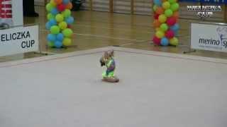 preview picture of video 'Wieliczka Cup 2014 - Międzynarodowy Turniej w Gimnastyce Artystycznej'