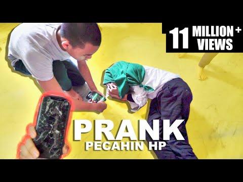 *DIA NANGIS* PRANK BER - 13 Pecahin Hp Ade Fatimah Halilintar