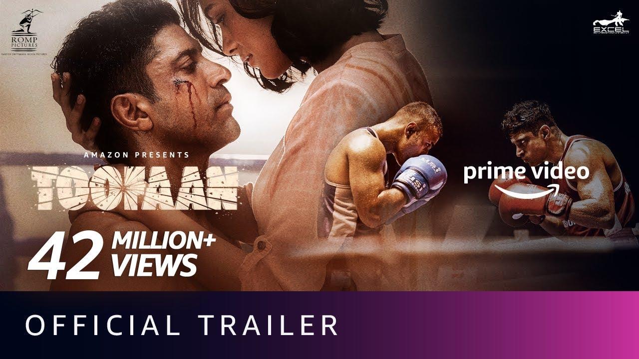 Toofaan - Official Trailer 2021   Farhan Akhtar, Mrunal Thakur, Paresh Rawal   Amazon Prime Video