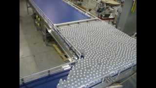 Mass Flow Bottle Conveyor And Bottle Table