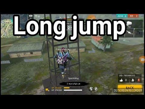 High jump iin free fire