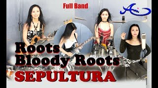 Sepultura - Roots bloody roots Drum, Bass, Guitar & Vocal cover by Ami Kim (#48-5)