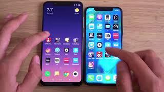 Xiaomi Mi8 vs iPhone X - Speed Test!
