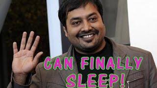 Anurag Kashyap I Can Finally Sleep Well  TOI