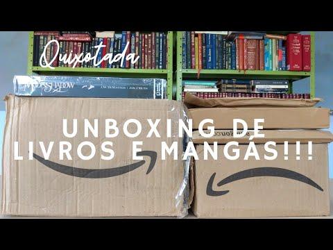 Desencaixotando livros e mangás. Unboxing de livros. Bookhaul de setembro. Novos na estante.