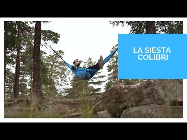 Видео Гамак La Siesta Colibri 3.0 sunrice