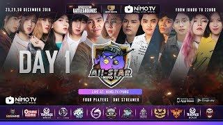 FULL NimoTV PUBG Allstar - Ngày 1 | Misthy, PewPew, RIP113 ft. RM5s, Refund ...