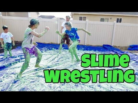 NASTY SLIME WRESTLING & FAMILY SLIME GAMES