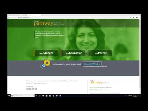 Search for Colleges and Build a College List with MEFA Pathway