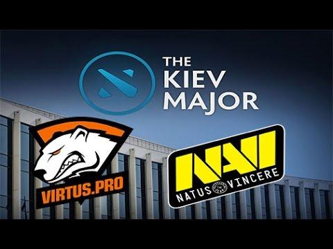 Virtus.pro vs NaVi Game 3 Live - CIS Semi-finals Main Qualifiers bo3 - Kiev Major 2017