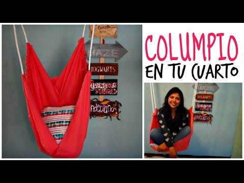 Haz un Columpio ❤ Decora tu cuarto | Ame Mayén