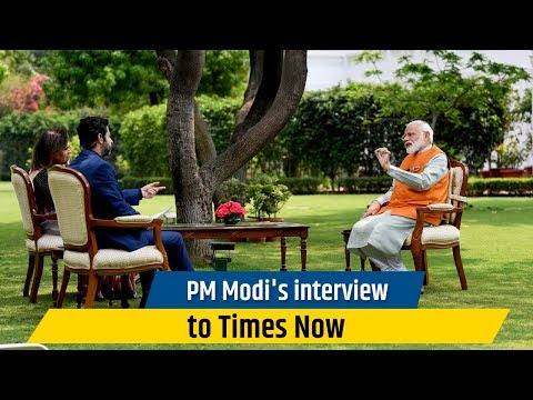 PM Modi's interview to Times Now